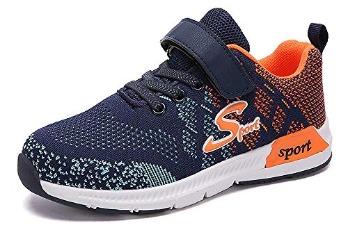 Eagsouni Sneaker Kinder Turnschuhe Jungen Sport Schuhe Mädchen Outdoor Ultraleicht Atmungsaktiv rutschfest Laufschuhe 28-39