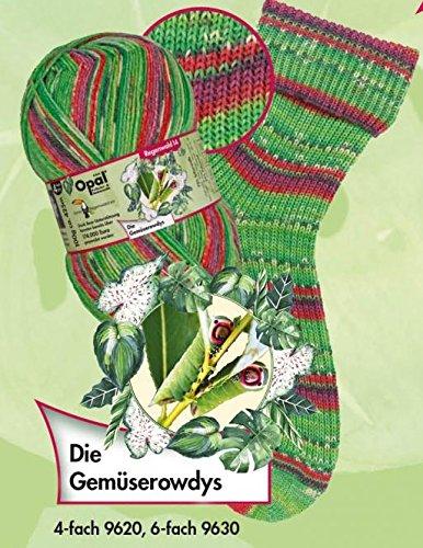 Opal Sockengarn - Regenwald XIV - 6fach 9630 Die Gemüserowdys