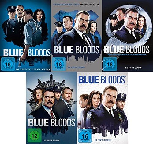 Blue Bloods - Die kompletten Staffeln 1+2+3+4+5 im Set (30 DVDs)