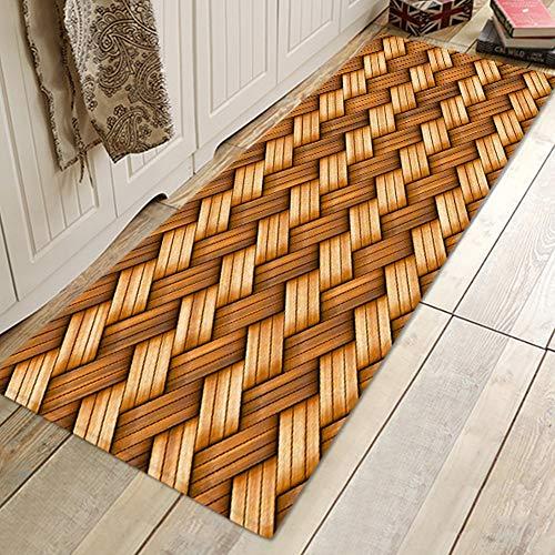 Changor Einfach zu Sauber Tür Matte, 40x60 cm Polyester Maschine Weberei Pro Heim Badezimmer