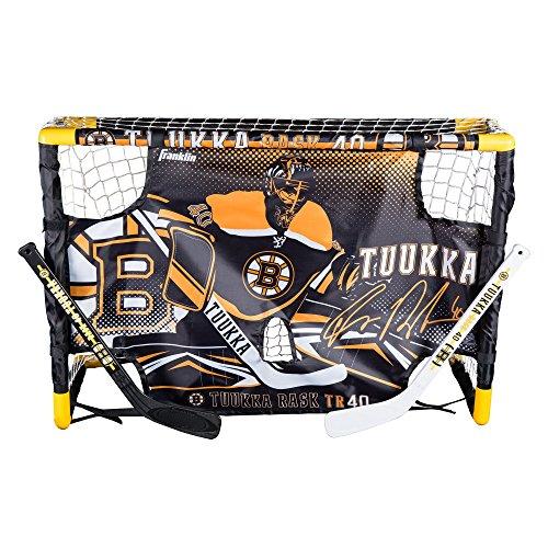Franklin Sports Tuukka Rask Mini Hockey Ziel Set mit Zielscheibe