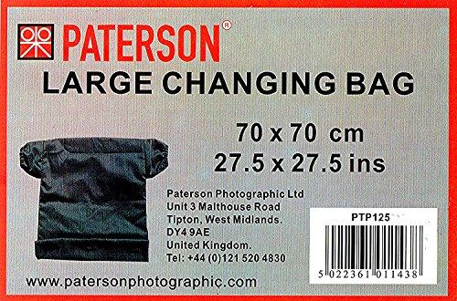 Paterson ptp125Tasche für Film, Schwarz