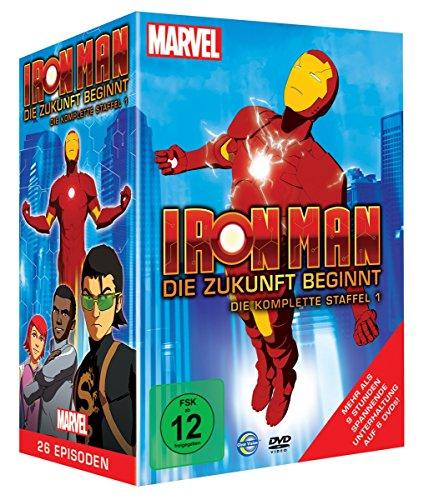 Iron Man - Die Zukunft beginnt - Die komplette Staffel 1 [6 DVDs]