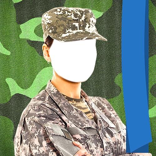 Armee-Foto-Anzug